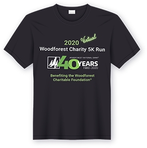 Shirt 2020 Woodforest Charity Run