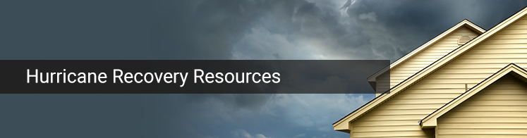 Hurricane Recovery Resources