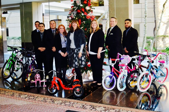 Woodforest National Bank donates bikes to Family Promise of Lake Houston