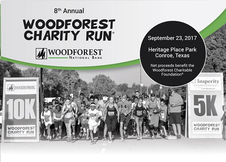 Woodforest Charity Run